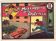 fumetto GIM TORO SERIE ROSA ORIGINALE ANNO 1948 N. 35