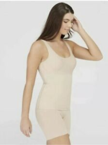 NWT Spanx Assets Firm Control Shaping Tank 10230R BEIGE Size M MSRP $26