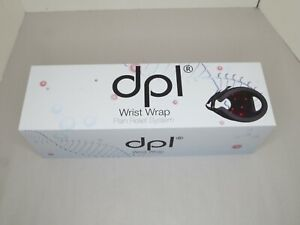 DPL~Wrist Wrap Pain Relief System~Infrared & Red Light Therapy~Black~Brand New