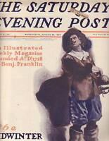 1902 Saturday Evening Post January 25 - Joel Chandler Harris; Tetong Indians
