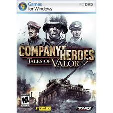 Company of Heroes: Tales of Valor (PC, 2009) Brand New sealed ships NEXT DAY