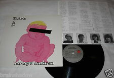 THE TICKETS nobody's children LP Ariola Rec. 1980 SWISS POWER POP