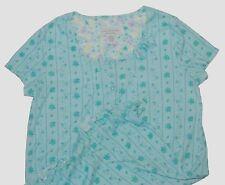 Karen Neuburger Blue Floral Short Sleeve Nightgown S Small NEW NWT Free Ship
