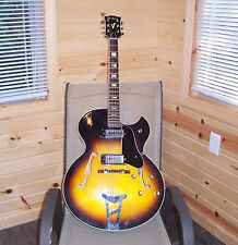 1970  Ventura Electric Guitar F hole Sunburst Made in Japan  V.G. cond. 60's