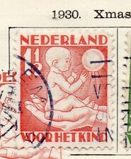 Holland 1930 Early Issue Fine Used 1.5c. 234373