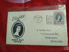 Malaysia Malaya 1953 Coronation Queen Elizabeth QE II FDC SELANGOR SINGAPORE