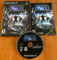 Star Wars The Force Unleashed (Sony PlayStation 2 2008) CIB Complete Tested PS2