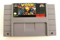 Wolverine: Adamantium Rage (SNES, 1994) Super Nintendo Cart - Authentic & Tested