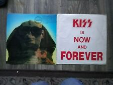 Kiss Hot in the Shade Flat Square 2-Sided Promo 12x12 Sphinx+forever flat rare