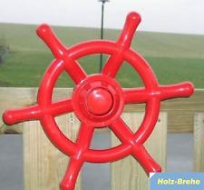 Winnetoo Steuerrad farbig rot Art.Nr. 1727 Spieltrum Spieltürme Piratenschiff