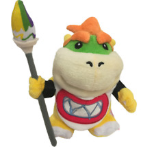 Super Mario Bros Collection Bowser Jr. Koopa With Pen Brush Plush Doll Toy Gift