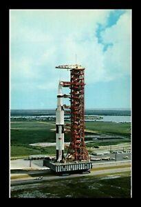 DR JIM STAMPS US APOLLO 4 NASA JOHN F KENNEDY SPACE CENTER POSTCARD FLORIDA
