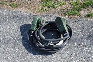Nato Military Slave Cable 20' Long NSN 2590-00-148-7961 New No Box HMMWV