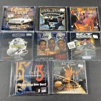 Lot of 8 Hip-Hop/Rap CDs (See Pics and Description for Artists/Titles) All New