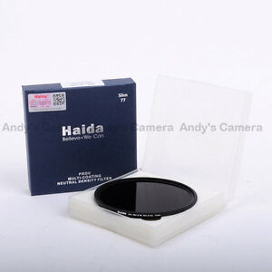 Haida 77mm Slim PRO II MC ND1.8 64x (6 Stops) Neutral Density Filter ND 64