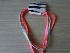 CLOSEOUT SALE! Scunci 3 Pcs  Headwrap Blue Pink Orange #2