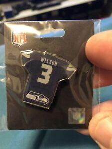 Seattle Seahawks Russell Wilson Jersey Pin