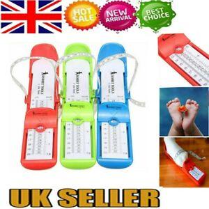 UK Baby Kids Infant Toddler Foot Measure Gauge Shoes Size Measuring Ruler Tool