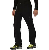 """Dare2b Mens Tuned In Water Repellent Stretch Walking Trousers Black 33"""" RRP £60"""