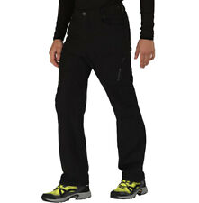 "Dare2b Mens Tuned In Water Repellent Stretch Walking Trousers Black 33"" RRP £60"