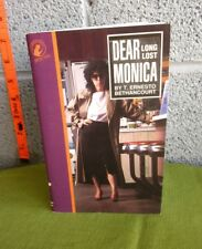 DEAR LONG LOST MONICA detective book T Ernesto Bethancourt 1990 kids mystery