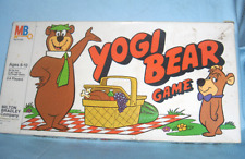 Vintage Milton Bradley THE YOGI BEAR Board Game 1980's Ages 6 to 10 Boys & Girls