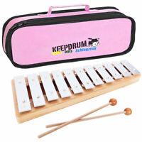 Sonor GP Xylophon Glockenspiel Sopran + Tasche Pink