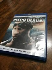 New listing Pitch Black (Blu-ray Disc, 2009, Rated Unrated Versions)