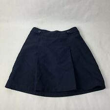 6 X GIRLS CHEROKEE SCHOOL UNIFORM / SKIRT / SKORT / SIZE XL- NAVY BLUE
