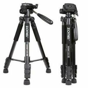 ZOMEI Professional Heavy Duty Aluminium Tripod&Pan Head for DSLR Camera Silver