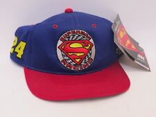 JEFF GORDON #24 Superman Racing Nascar Snapback Cap/Hat - Blue/Red