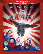 Dumbo [Blu-ray 3D + Blu-ray] New and Factory Sealed!!