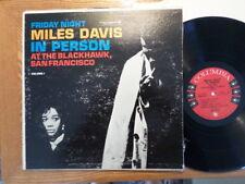 COLUMBIA 6 EYE LP DG RECORD MONO CL 1669/MILES DAVIS/IN PERSON BLACKHAWK/ VG MIN
