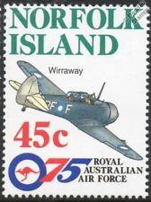 Royal Australian Air Force RAAF CAC WIRRAWAY Aircraft Stamp 1996 Norfolk Island