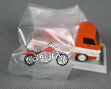 BREKINA 34341 (H0, 1:87) Dodge A 100 Plataforma Belss Angels Con Harley, Orange