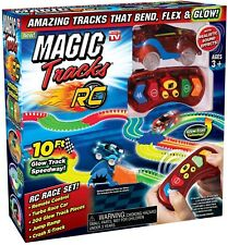 Magic Tracks WITH REMOTE The Amazing Racetrack That Can Bend, Flex and Glow