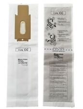 12 Oreck CC Allergen Vacuum Cleaner Bags To Fit all XL XL2 Upright Models 12 pk
