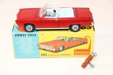 """Corgi Toys 246 Chrysler """"Imperial"""" 99,9% mint in box with figures & golf set"""