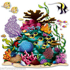 Large UNDER the SEA Plastic CORAL REEF PROP Nemo Ocean Party Decorations