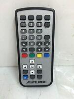 Alpine Rue-4142 Car Hand Held Remote Control iR Handset TUE-T200DVB TUE-T150DV