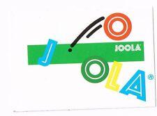 Aufkleber Joola, rechteckig