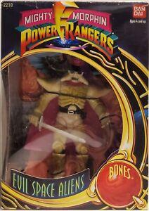 Mighty Morphin Power Rangers Evil Space Aliens Bones 1993 TY