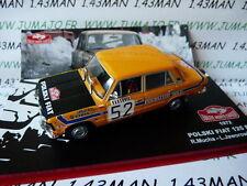 voiture 1/43 IXO Altaya Rallye Monte Carlo 1972 : POLSKI FIAT 125 P Mucha