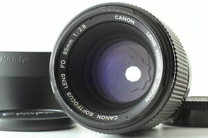 [MINT+++ / HOOD ] Canon New FD NFD 85mm f2.8 Soft Focus Lens From  JAPAN