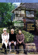 The Kingdom of Dreams and Madness (DVD, 2015)