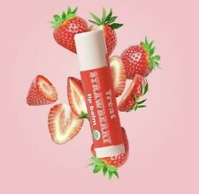 🍓🍓🍓 TREAT BEAUTY New Organic Juicy Strawberry Jumbo Lip Treatment Balm!