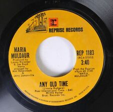 Rock 45 Maria Muldaur - Any Old Time / Midnight At The Oasis On Reprise Records