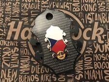 Hard Rock Cafe HRC PRAG PRAGUE Headstock Lapel Pin NEW Neu