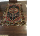 """Antique Distressed Hand Knotted 84""""x50"""" Turkish Oriental Style Wool Rug"""