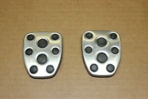 Subaru Impreza WRX GD Brake + Clutch Pedal Covers 01 02 03 04